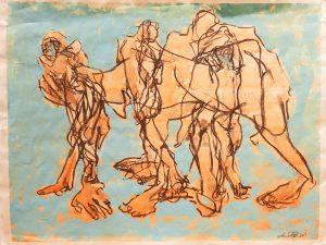 Taidelainaamon kesän taiteilija – Annika Brandt