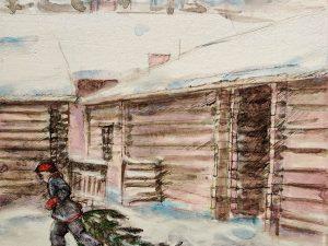 Taidelainaamo ja Pesula Galleria joulutauolla